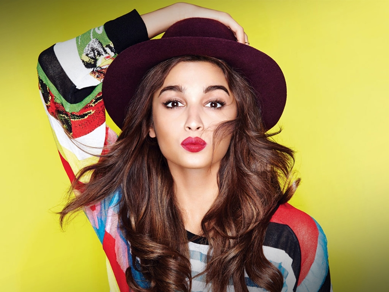 Alia Bhatt, Si Cantik Berbibir Seksi.2