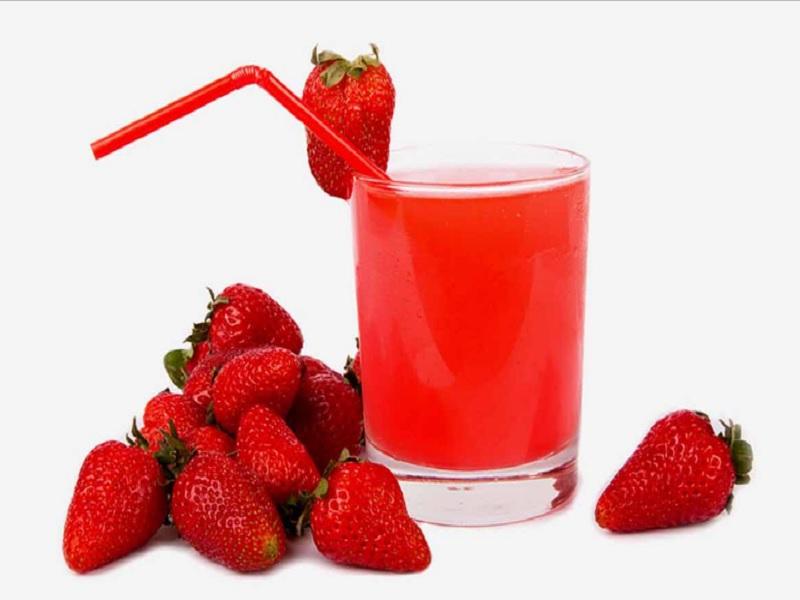 Manfaat buah dan jus strawberry untuk kulit.1
