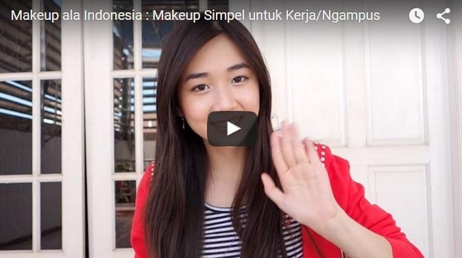 Makeup Simpel untuk Kerja