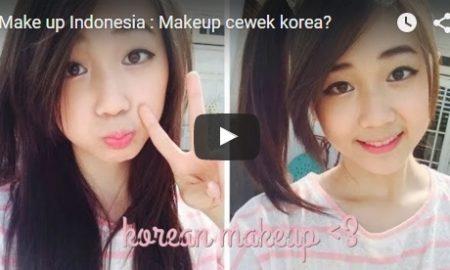 Makeup cewek korea