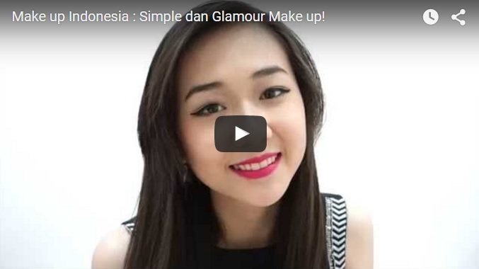 Simple dan Glamour Make up