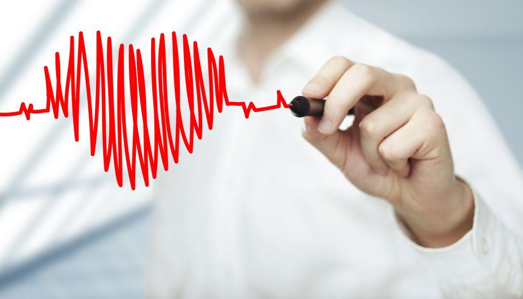 detak jantung sehat
