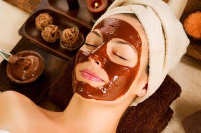 perawatan wajah alami dengan coklat