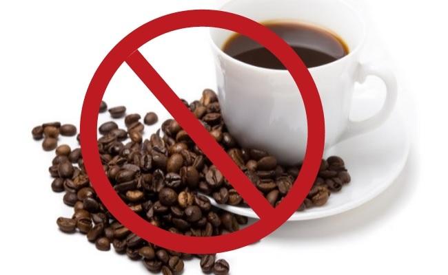 menghindari kafein