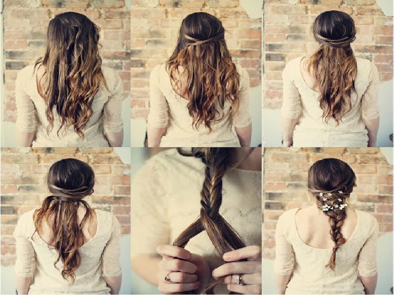 Tips Menata Rambut Untuk Pesta