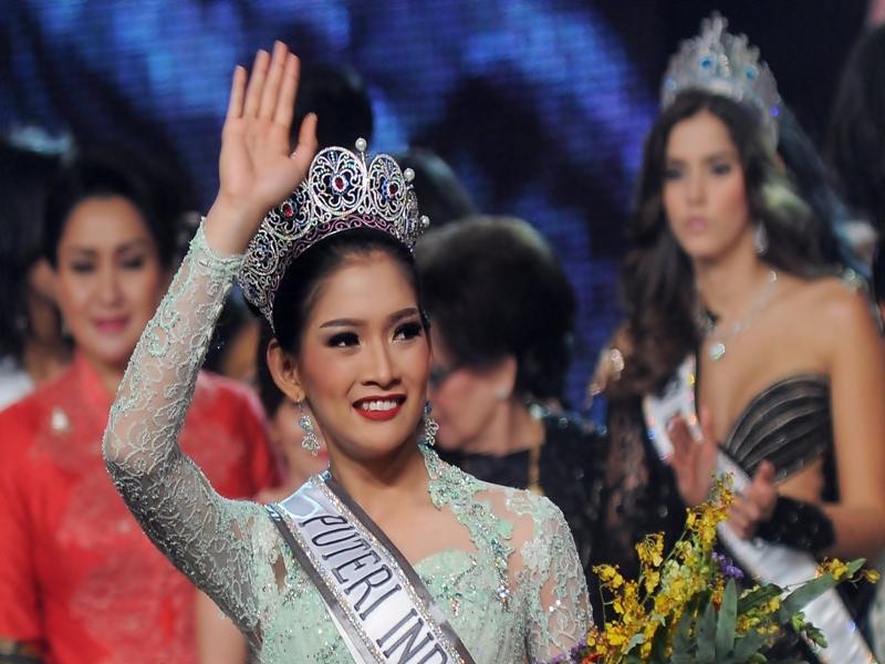 Bibir Cantik Khas Puteri Indonesia.2