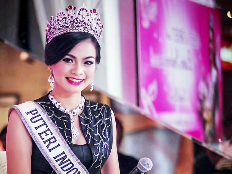 Bibir Cantik Khas Puteri Indonesia