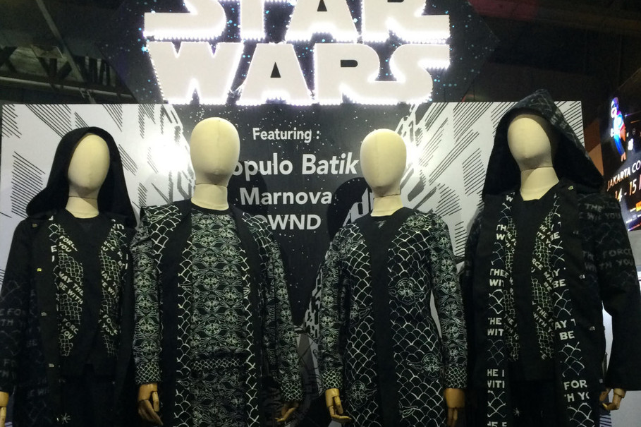 Kolaborasi Star Wars Dan Fashion Dunia