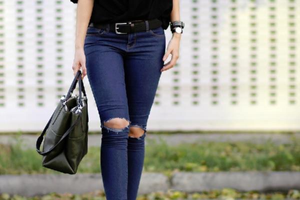 Padu Padan Ripped Jeans