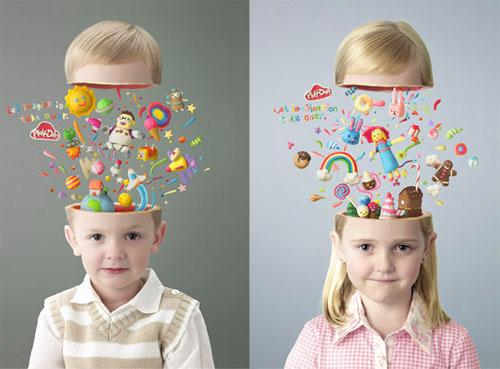 cara mengarahkan imajinasi anak