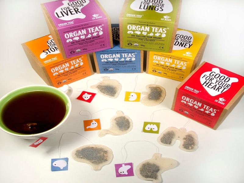 kantung teh herbal seperti organ tubuh