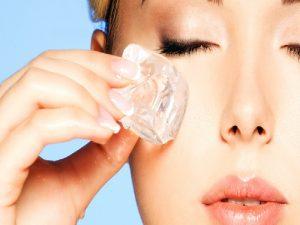 Tips Wajah Cantik Denga Treatmen Es Batu