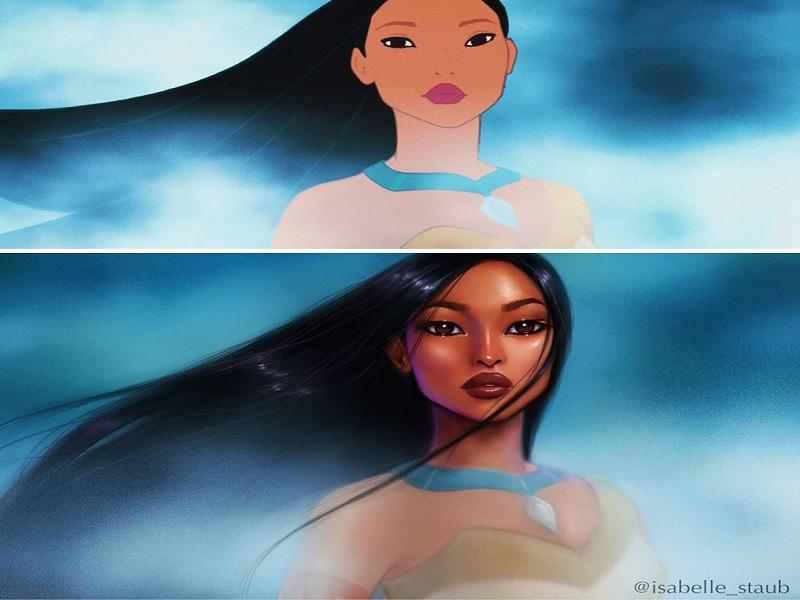 cara cantik agar terlihat seperti Disney princess