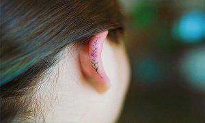 saran untuk membuat tato telinga yang cantik
