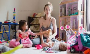 gejala depresi postpartum yang paling terlihat
