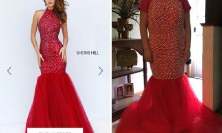 kesalahan saat membeli baju pesta secara online