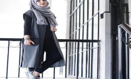 lebih cantik dengan busana hijab yang kasual