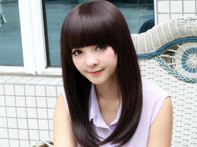 Rambut Berkilau Ala Wanita Korea2