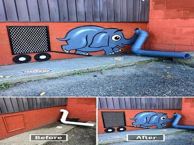 dampak mural untuk kepentingan sosial dan ekonomi