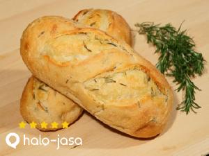 roti dengan bahan rempah – rempah alami