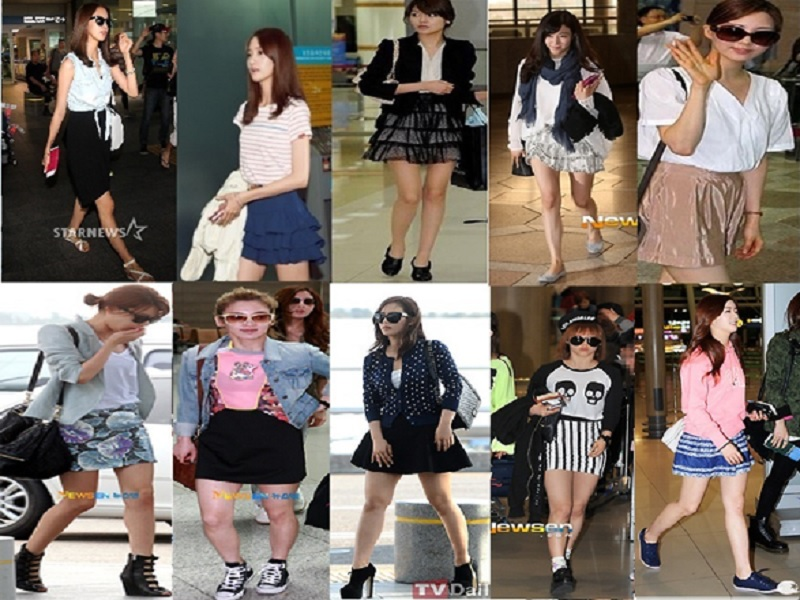 Inspirasi airport fashion style ala korean idol tips Fashion style ala artis korea
