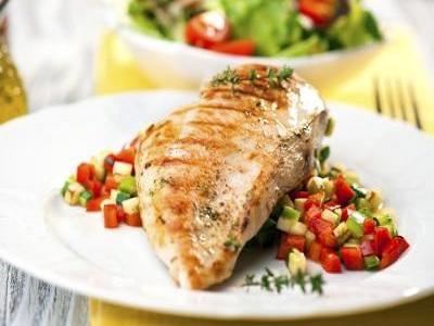 cara diet buah, sayuran dan daging