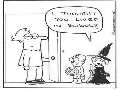 cara membuat anak suka dengan sekolah
