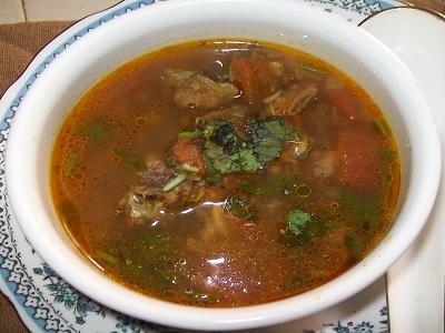 herbal yang bisa merubah sup daging kambing.4