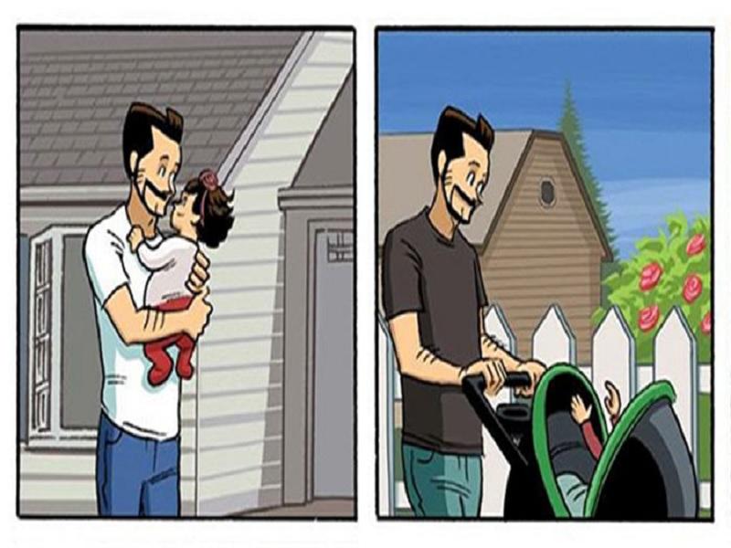 perubahan yang terjadi dalam hubungan orang tua
