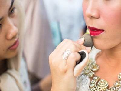Makeup Bibir Raisa Bikin Pangling, Ini Rahasianya!3