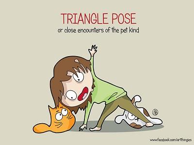 langkah cantik karena yoga setiap pagi