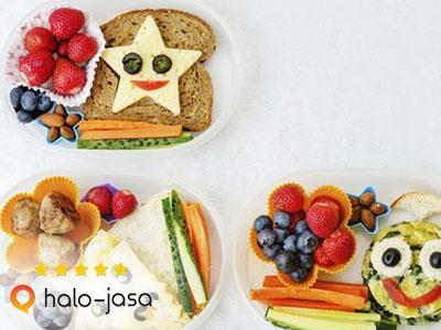 makanan sehat bergizi untuk anak dengan harga murah