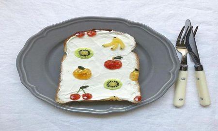 kreasi roti bakar menyehatkan untuk makan pagi