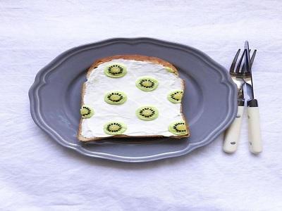 kreasi roti bakar menyehatkan untuk makan pagi.7