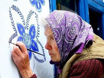 manfaat melukis untuk lanjut usia dan demensia