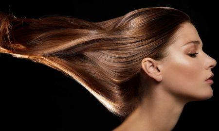 Perawatan rambut hair gloss treatment