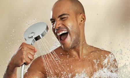 Tipe cara mandi pria